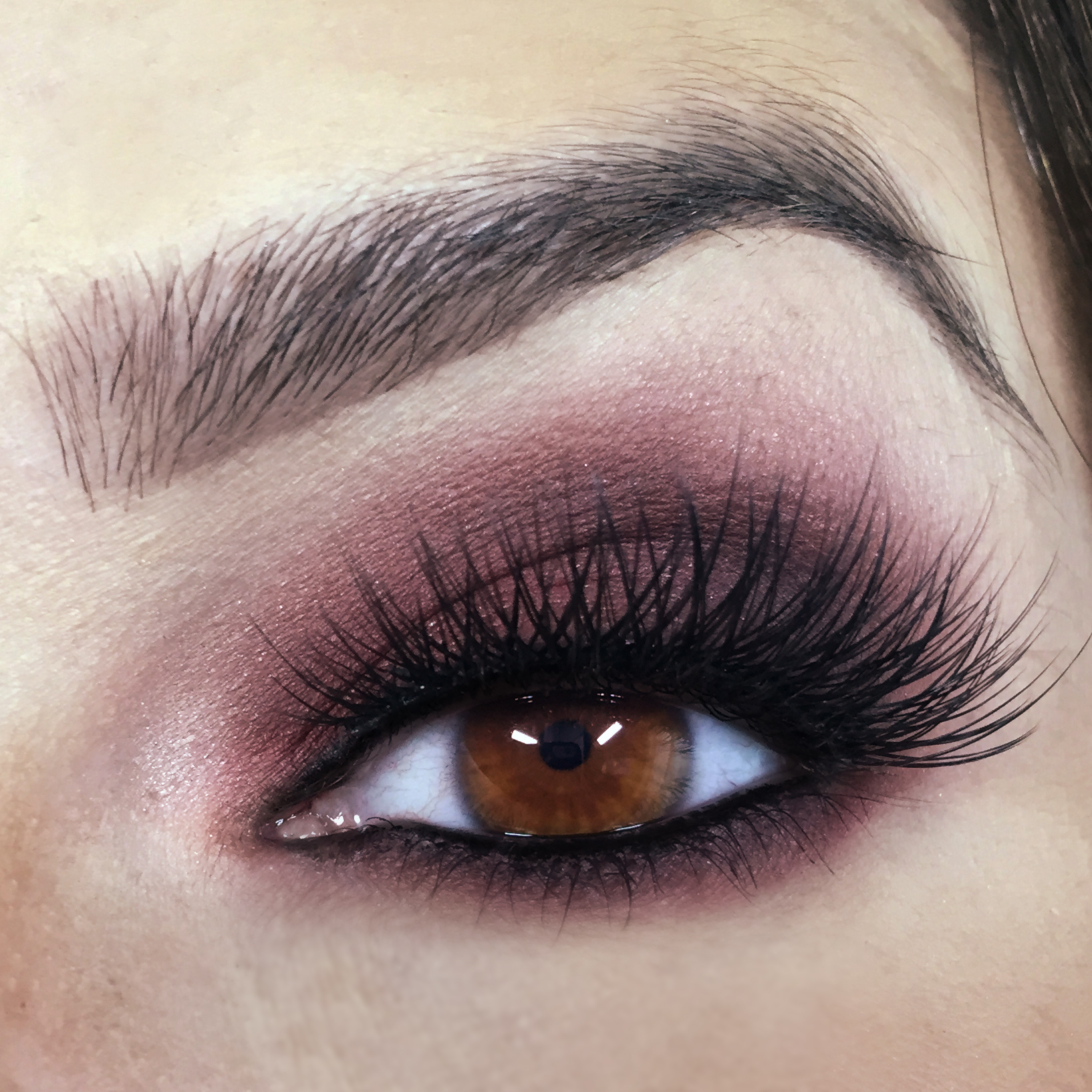 Plum Smokey Eye - Tease & Makeup - Makeup Artist