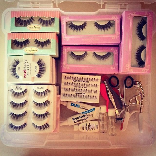Bridal Lash kit is fully stocked for 2014 weddings!!  #teaseandmakeup #houseoflashes #redcherry #ardell #duralash #makeupforever #mac #mua