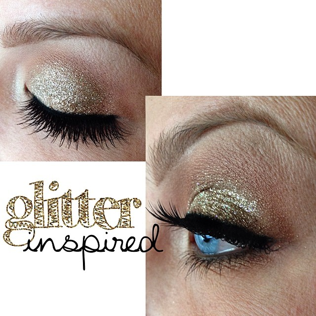Glitter inspired look using @litcosmetics #champagnewishes and @houseoflashes in #pixieluxeExcited to say that these lashes will also be available with your #teaseandmakeup service!  There is one final set of lashes that will be featured later today! Check back.... #makeupartist #mac #litcosmetics #houseoflashes #houseoflashespixieluxe #glitter #gold #blueeyes #mua #bridalmakeup #lashes #eyelashes #falsies #goldmakeup