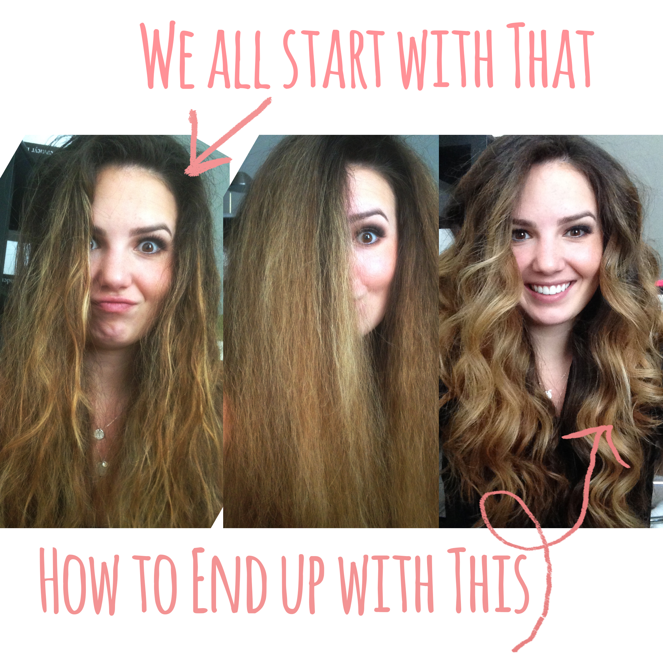 How to Style your Frizzy hair into Voluminous Curls!