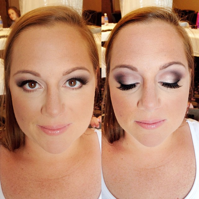 Bridal Makeup | Smokey Eyes | Eggplant and Satin Shadows | Faux Lashes #teaseandmakeup #mua #bridal #bridalmakeup #maccosmetics #macmakeup