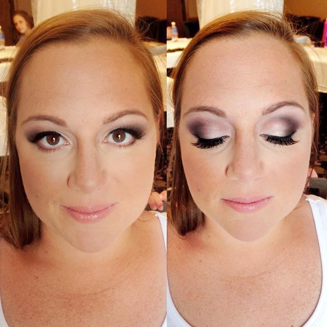 Bridal Makeup Eggplant Smokey Eyes Tease And Makeup