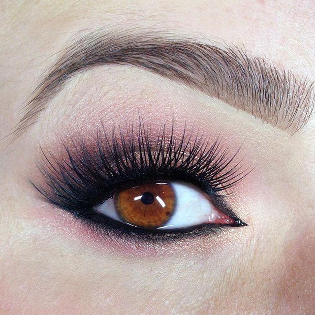 rose gold smokey eye brown eyes tease and makeup