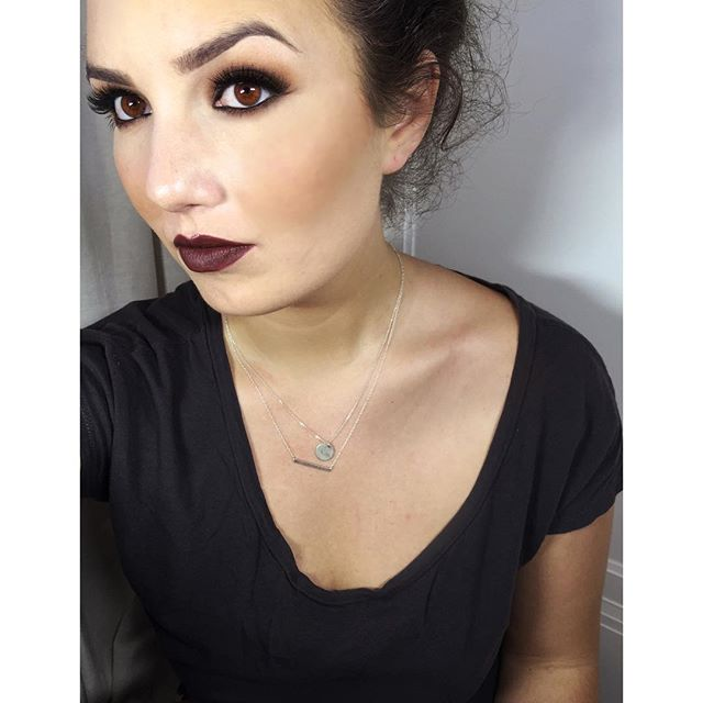 "Plum Lips from M A C ----------------------------------------------------------------Lips: @maccosmetics ""Plum"" lip liner Eyes : @maccosmetics @makeupgeektv Brows : @anastasiabeverlyhills Skin : @makeupforeverofficial @rcmamakeup @maccosmetics @urbandecaycosmetics @smashboxcosmetics #lipstick #plum #mac #anastasiabeverlyhills #teaseandmakeup #urbandecay #rcma #makeupgeek #mua #makeupforever #darklips #browneyes #smokeyeyes #fallmakeup"