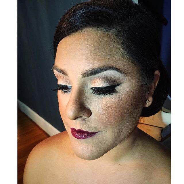 Bridal Glam #teaseandmakeup #mua #utica #houseoflashes #maccosmetics #urbandecay #makeupforever #anastasiabeverlyhills #redlips