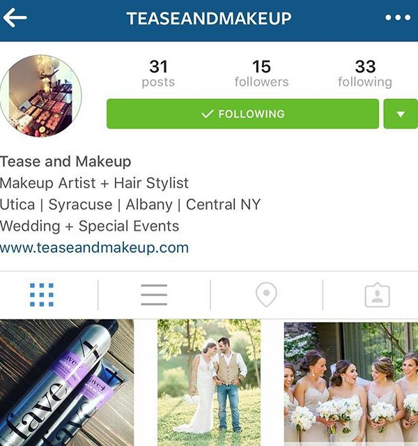 Check out my new page @teaseandmakeup for all things Hair + Makeup!#teaseandmakeup