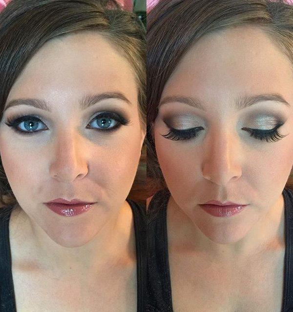 Bridesmaid Smokey Eye for Wedding at Radisson in Utica