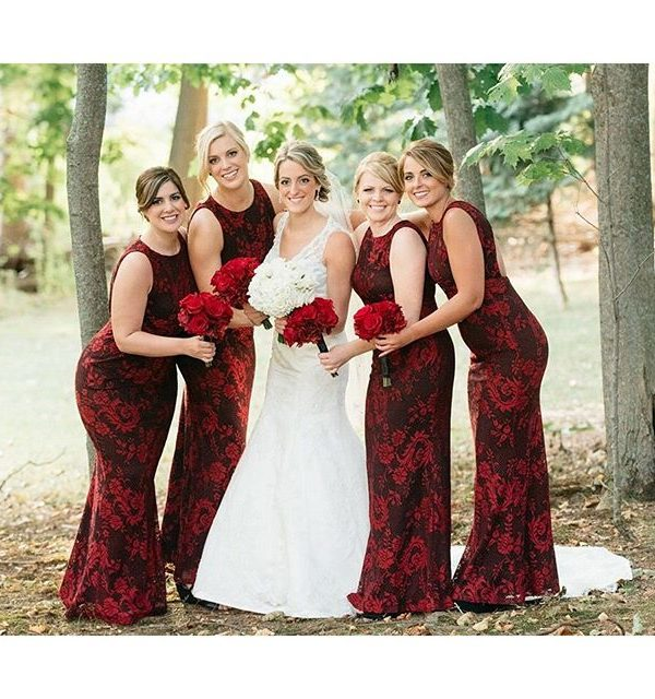 The Beeches in Rome – Bridal Party Makeup