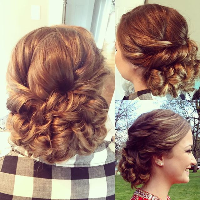 Prom Hairstyle Holland Patent Prom 2016 Tease And Makeup