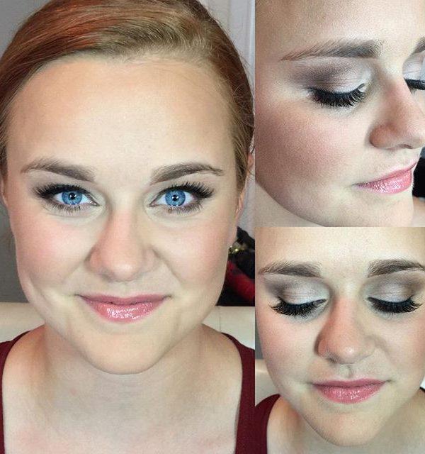 MKJ Farm Wedding • Bridal Makeup • Soft Smokey Eye + Natural Skin