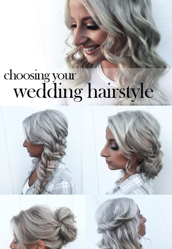 Tips for Choosing a Wedding Hairstyle