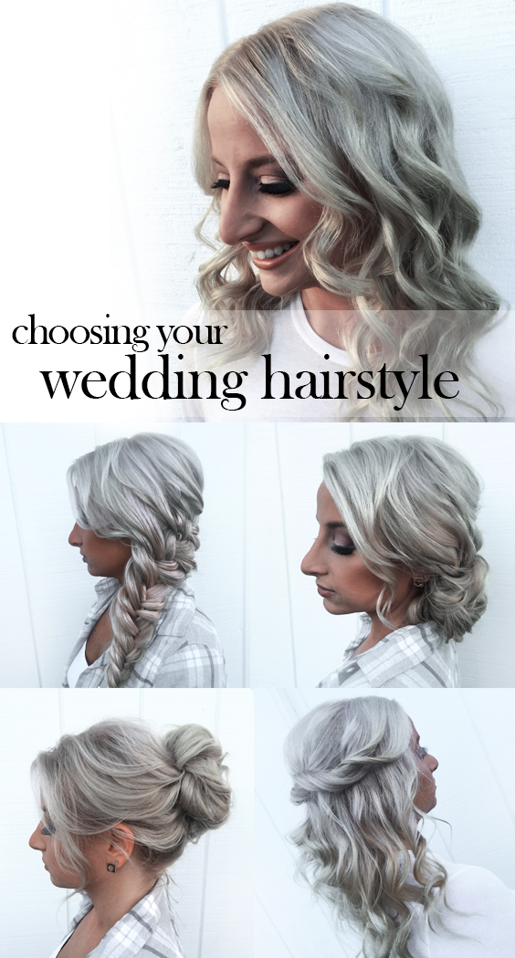 Tips for Choosing a Wedding Hairstyle | Tease and Makeup