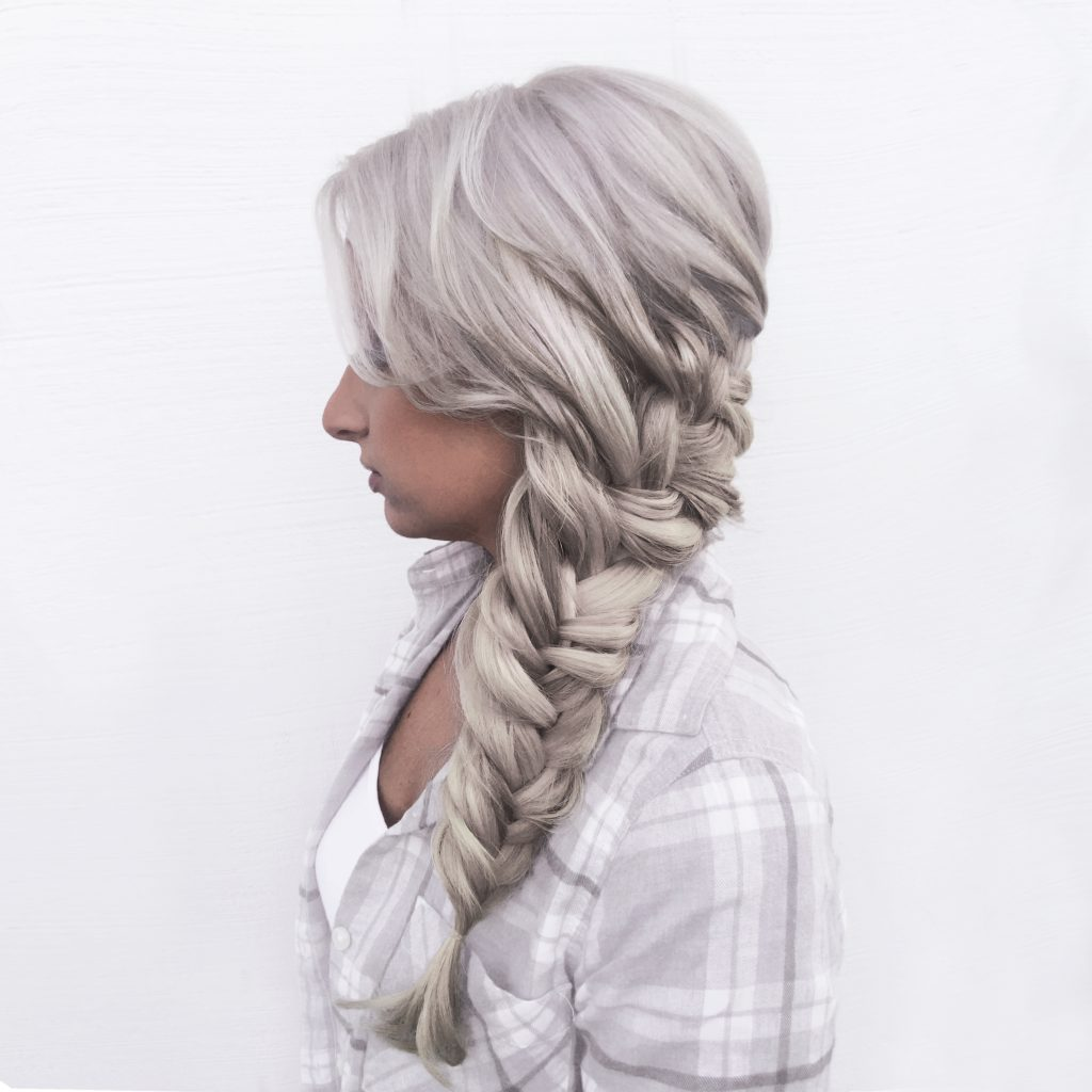 Fishtail Braid - Tease and Makeup