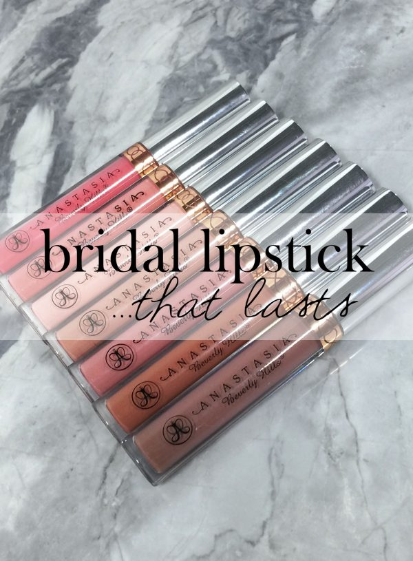 The Perfect Lipstick for your Wedding Day