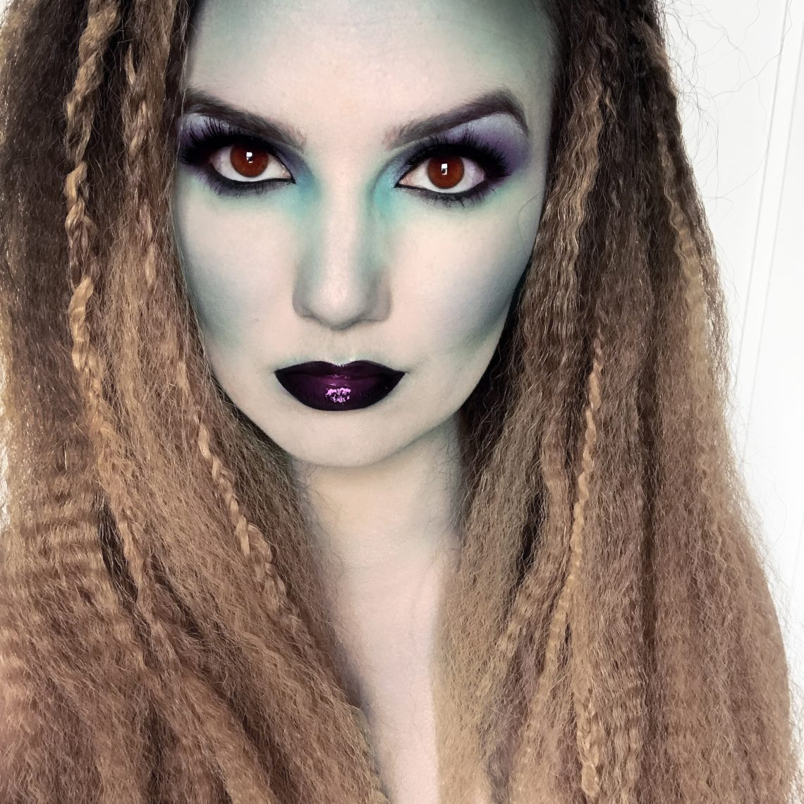 halloween mermaid makeup and hair