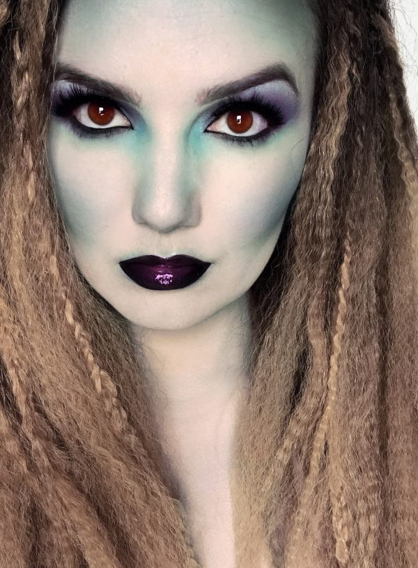 Halloween | Mermaid Makeup and Hair